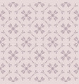 ornamental seamless pattern with delicate grid vector image vector image
