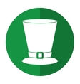 top hat saint patrick day symbol shadow vector image vector image
