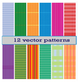 12 pattern vector image