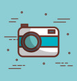 cute camera design vector image