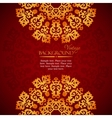 elegant mandala indian invitation template vector image vector image