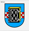 emblem of bochum vector image