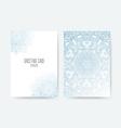 Greeting Card Ornamental Set vector image