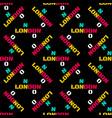 london pattern seamless design vector image