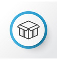 open box icon symbol premium quality isolated vector image vector image