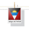 photo of antigua and barbuda flag vector image