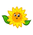 Sunflower logo vector image