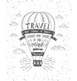 Travel of air balloon