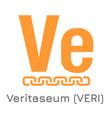 veritaseum veri crypto coi vector image