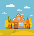autumn scenic field landscape background