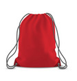 backpack bag isolated vector image vector image