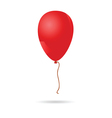 baloon red vector image