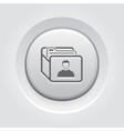 Customer Base Icon Business Concept vector image vector image