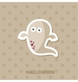 Ghost icon Halloween sticker