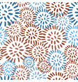 seamless pattern with colorful hand drawn abstract vector image vector image