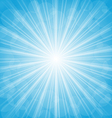 Summer background show light rays vector image vector image