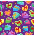 Valentines days presents collection vector image vector image