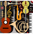 Abstract musical instruments vector | Price: 1 Credit (USD $1)