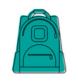 backpack school supply icon image vector image vector image