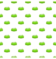 Bushes pattern cartoon style vector image vector image