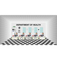department health office vector image vector image