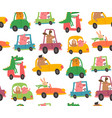 drivers pattern vector image vector image
