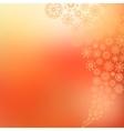Elegant Christmas background snowflakes EPS8 vector image vector image