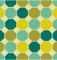 geometric polygon seamless pattern vector image