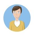 Man avatar icon cartoon style vector image