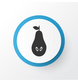 pear icon symbol premium quality isolated natural vector image vector image
