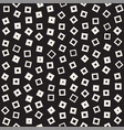 seamless chaotic patterns randomly scattered vector image vector image