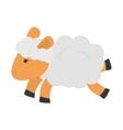 single sheep icon vector image