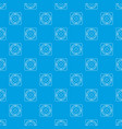 speaker pattern seamless blue vector image vector image