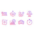 speaker taxi and reject icons set online vector image vector image