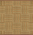 wood textured seamless pattern checkered vector image