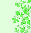 abstract Spring pattern vector image vector image