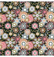 Cartoon floral seamless pattern vector | Price: 1 Credit (USD $1)