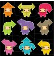cute arrow kids vector image