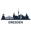 Dresden city skyline
