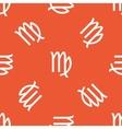 Orange Virgo pattern vector image