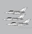 panavia tornado vector image vector image