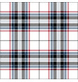 red blue and black tartan plaid scottish pattern vector image vector image