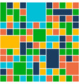squares color background template flat design vector image vector image