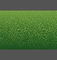 the banner green sequins glitter sparkle back vector image vector image
