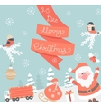 Card for christmas vector image vector image