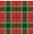 Christmas Tartan Seamless Patterns vector image vector image