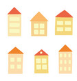 cool houses vector image