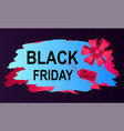 coupon big discount on black friday vector image