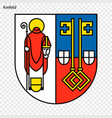 emblem of city of germany vector image vector image
