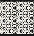 geometric seamless pattern edgy triangular grid vector image vector image